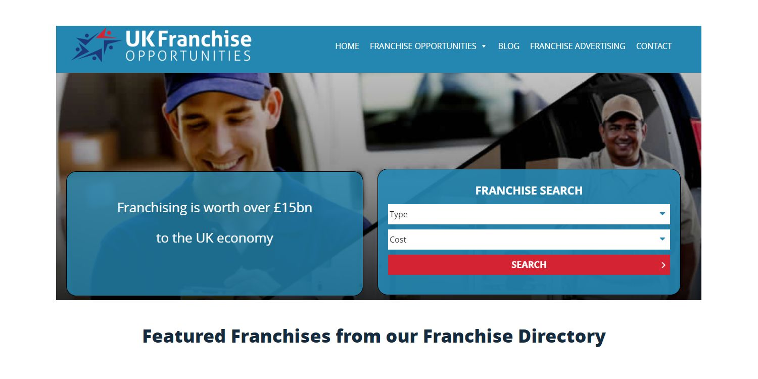 best new franchises for sale uk